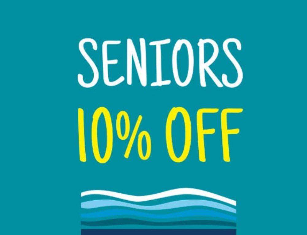 Seniors – 10% off