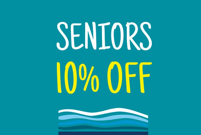 Seniors 10% off Logo